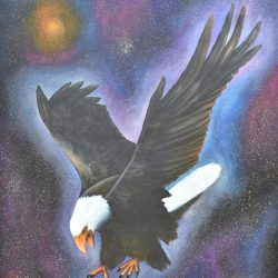 Aguila imponente painting