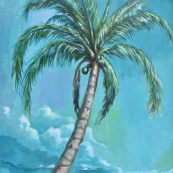 El cocotero painting
