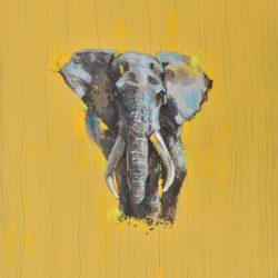 El elefante de la sabiduria painting