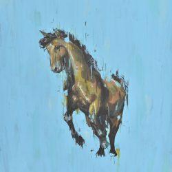 El galope painting