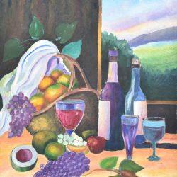Bodegón tropical Painting