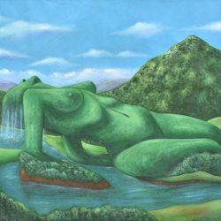 Fuerza de la naturaleza painting
