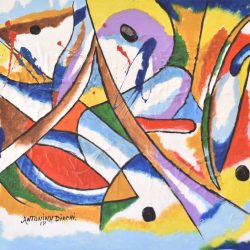 PECES ABSTRACTOS painting