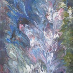 Flora en extinción painting