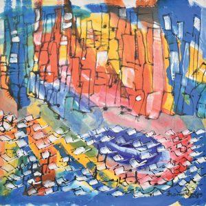 Paisaje urbano painting