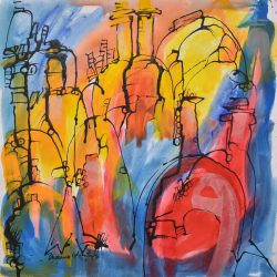 Serie botellones I painting