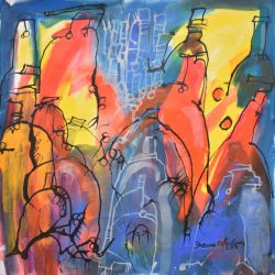 Serie botellones II painting
