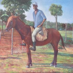 Camino al conuco painting