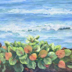 Frente al mar painting
