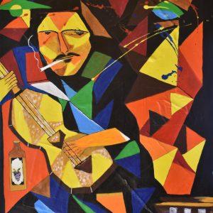 El bohemio painting