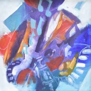 Musical abstracto II painting