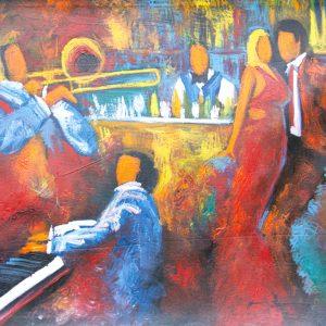 El Bar painting