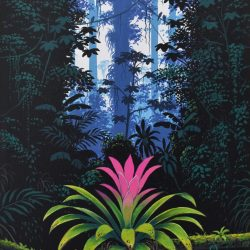 Bromelia painting