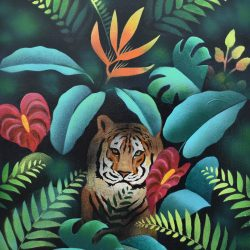 Refugio Natura painting
