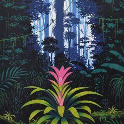 Bromelias painting