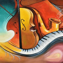 Instrumento musical I painting