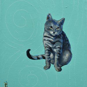 Pet Cats painting