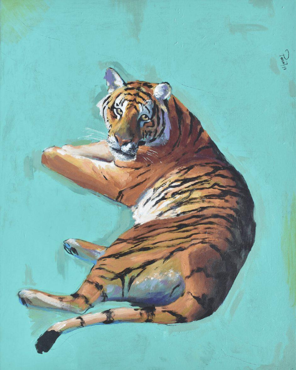 El tigre painting