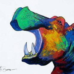 Hippopotamus Painting