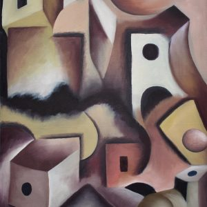 Cubismo Geométrico painting