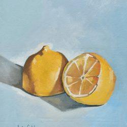 Limones painting