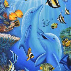 Delfín painting