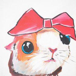 Pinky Painting