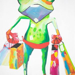 Shop Hopping Painting