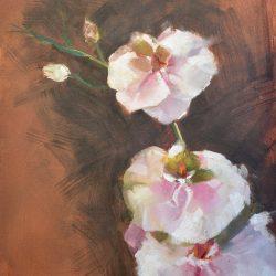 Orquideas painting