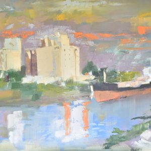 Rivera Impresionista painting