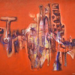 Ana Caona painting