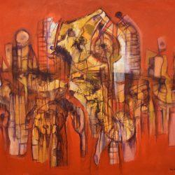 Danza taína painting