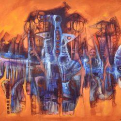 Jutias painting