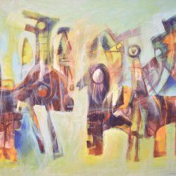 Nietos de Aón painting