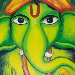 Lord Ganesh 3 painting