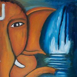 Lord Ganesh 6 Painting