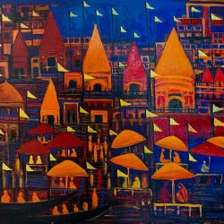 The Joy of Life Banaras Painting