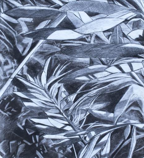 Botánica I painting