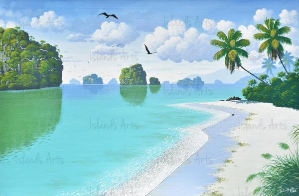 Los Haitises 40 x 60 painting