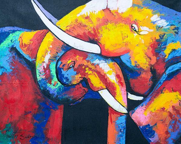 Elephant-Couple-Hector-Suarez