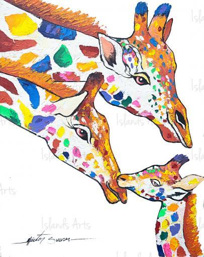 Giraffe-Family-Hector-Suarez
