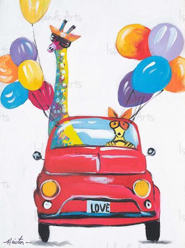 Balloon Animals Painting