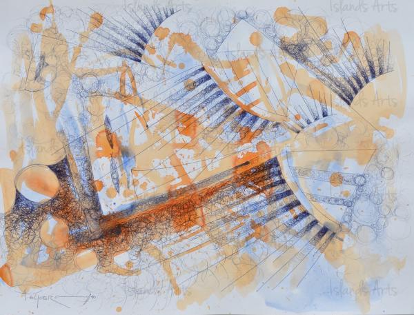 DORMIDO AL LADO ALEXIA painting